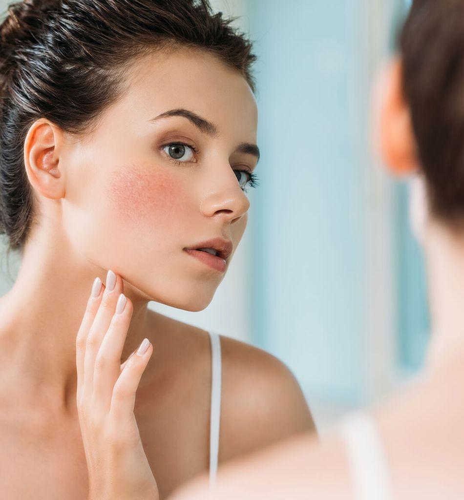 Lugnande ansiktsmask